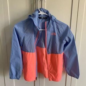 Girls rain jacket, lightweight, excellent